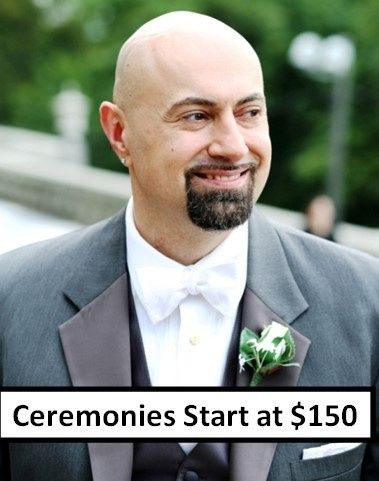 Gregg Kits, DD, Wedding Officiant