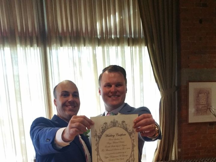 Tmx 1470709664684 Brad  Bryn 6 Clifton, New Jersey wedding officiant