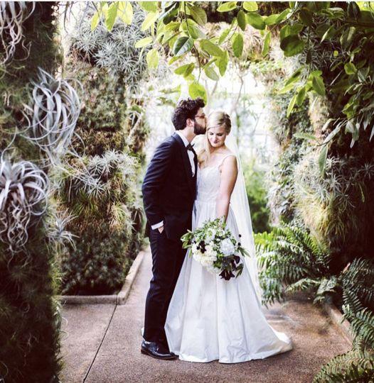 Micro garden wedding