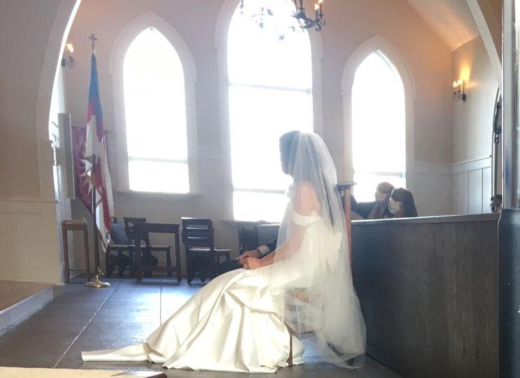 Dream bride, Bay St. Louis