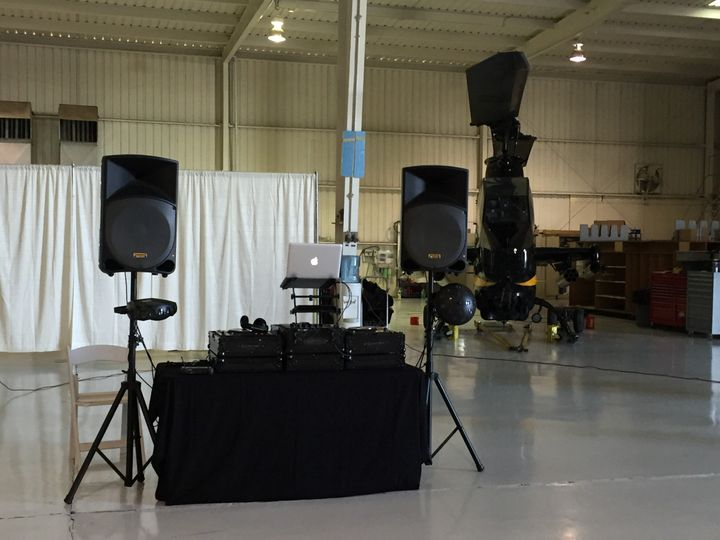 Wedding at Falcon Field Airport Hanger