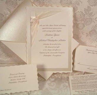Wedding Invitation Brand: Arlene Segal