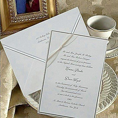 Wedding Invitation Brand: C'est Papier