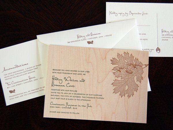 Wedding Invitation Brand: Designers Fine Press