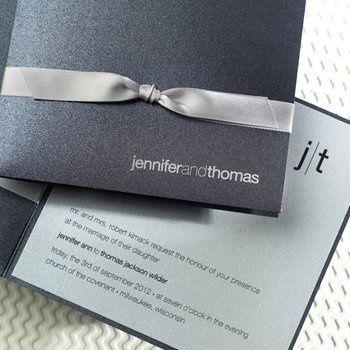 Wedding Invitation Brand: Encore Studios
