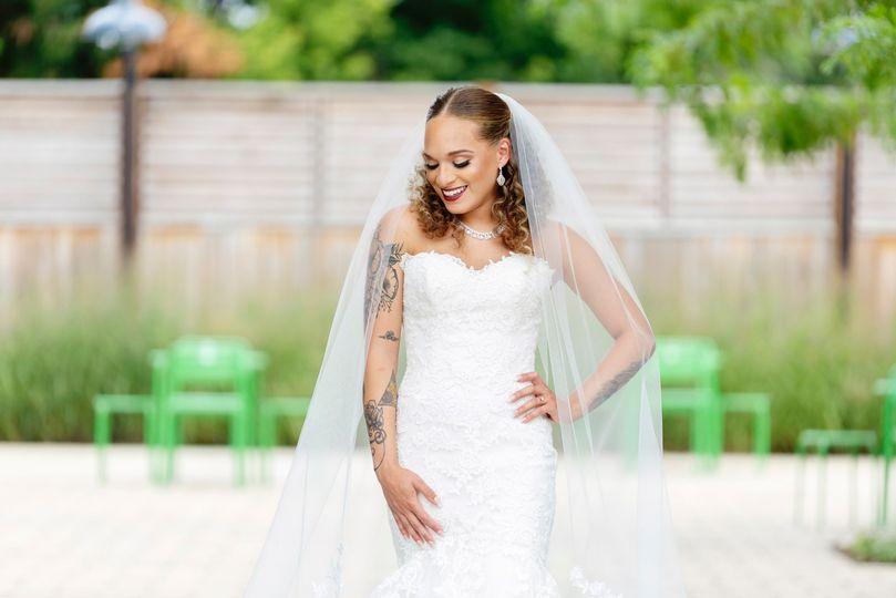 Bride at Warehouse 109