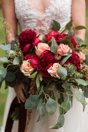 Romantic, Rustic Bouquet
