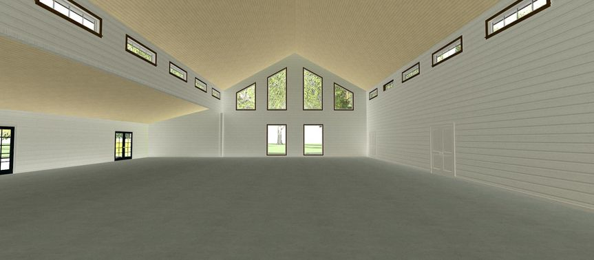 Interior Back Wall 3D