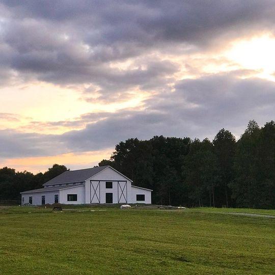Sunsets at the barn