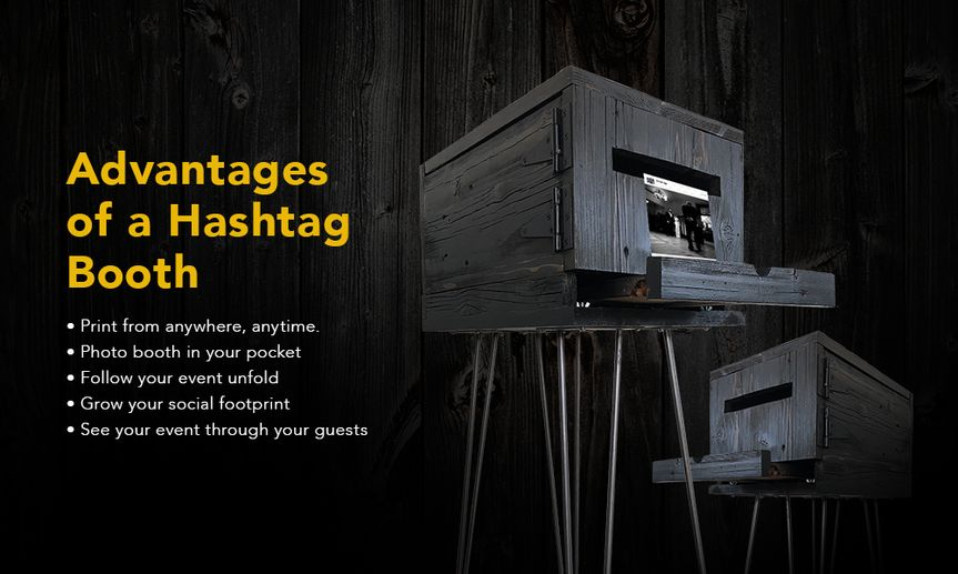 5 Reasons for a Hashtag Booth
