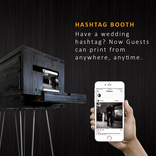 Have a wedding hashtag?