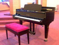 Our beautiful grand piano is exceptionally maintained and is remarkable when played in our...