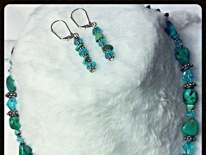 Tmx 1470951484805 Turquoise 18 Necklace 1 Smithboro wedding jewelry