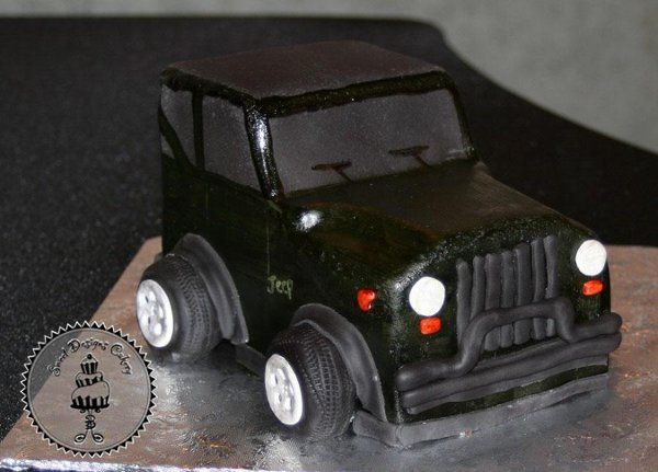 jeepgroomscake