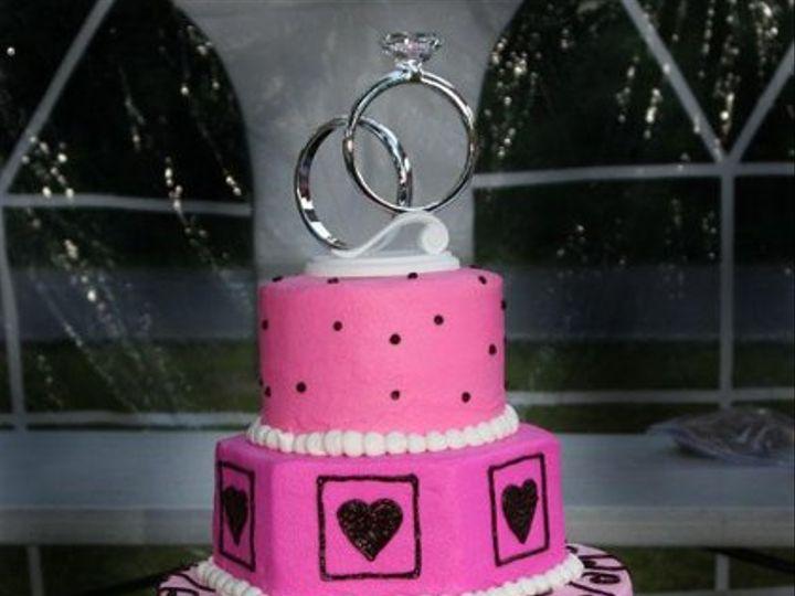 Tmx 1248118875776 NewandCannonWeddingCake Pittsburg wedding cake