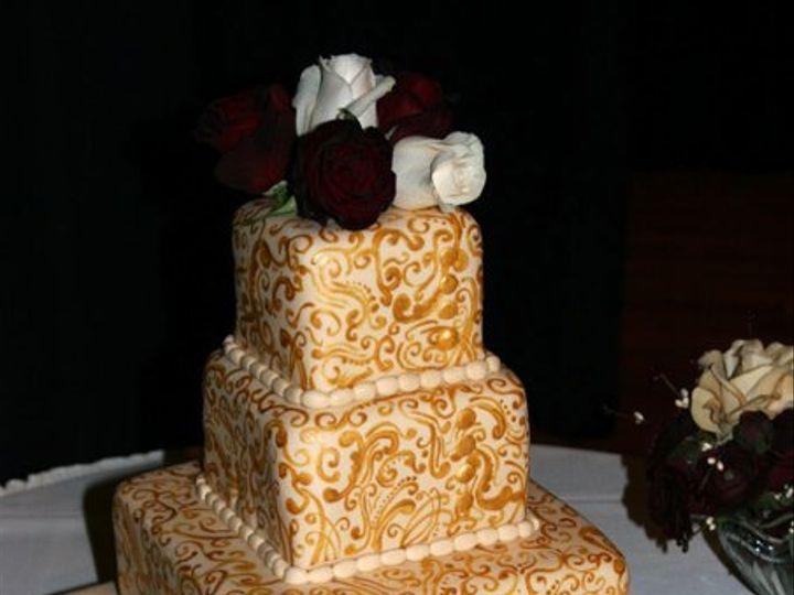 Tmx 1258576984015 OglenHughesWedding Pittsburg wedding cake
