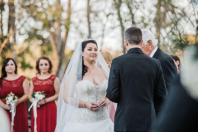 Gorgeous ceremony