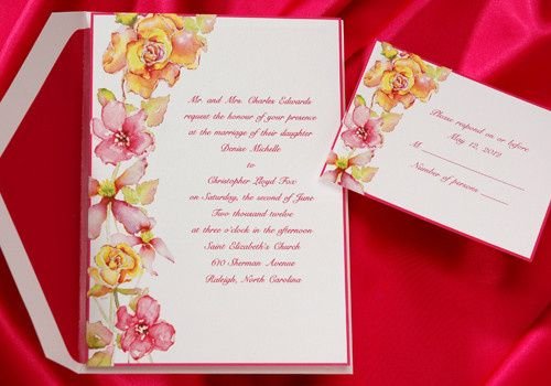 Tmx 1366908903117 Pink Invite Newburgh wedding invitation