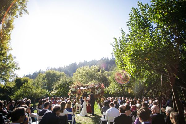 Rustic Elegance - Dawn Ranch Wedding, Russian River