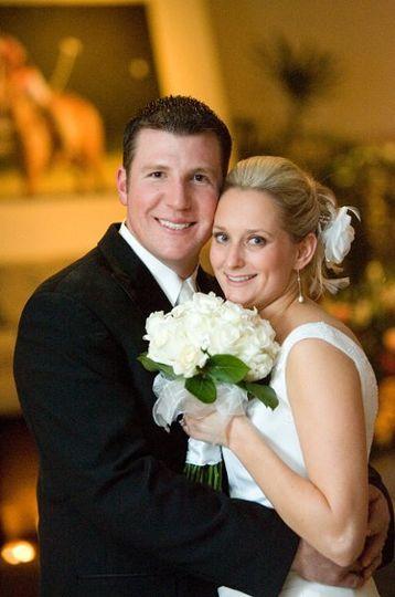 Brides Bouquet Hand Tied  St. Pius Catholic Church Redwood City, ca