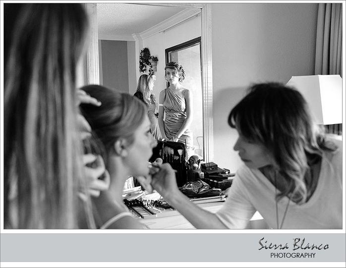 Bride Getting Ready Room