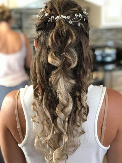Bride Hair by Nina