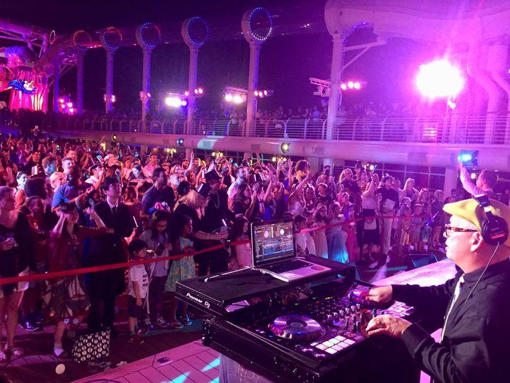 Disney Cruise Ship NYE