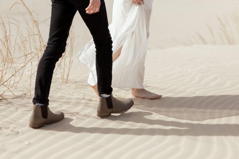 Walking in Dunes