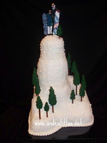 My Son in Law's grooms cake, at the rehearsel dinner. The groom's cake was Chocolate with peanut...