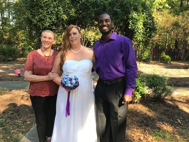 Oct wedding at Red wing park