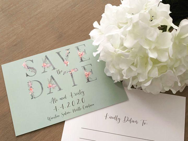 Tmx Save The Date 51 1900965 157670428628292 Stratham, NH wedding invitation