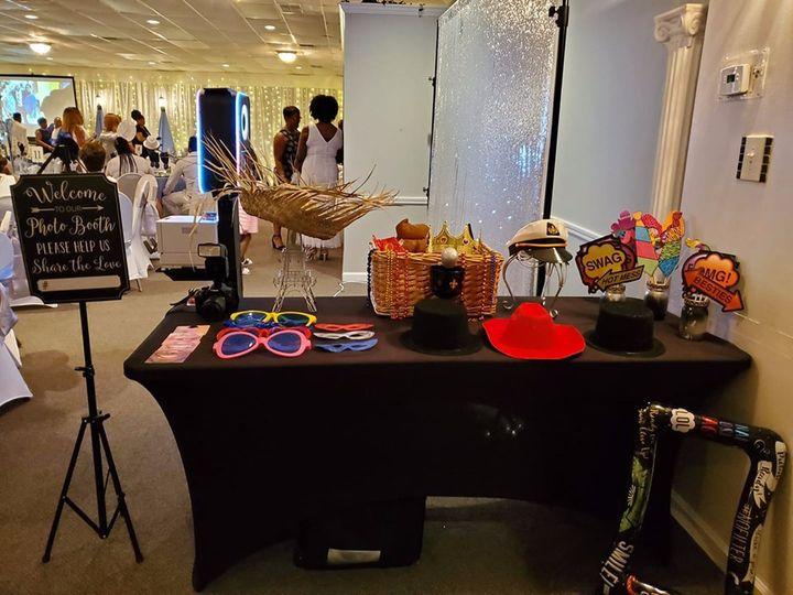 Prop table setup