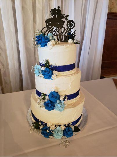 Blue cake