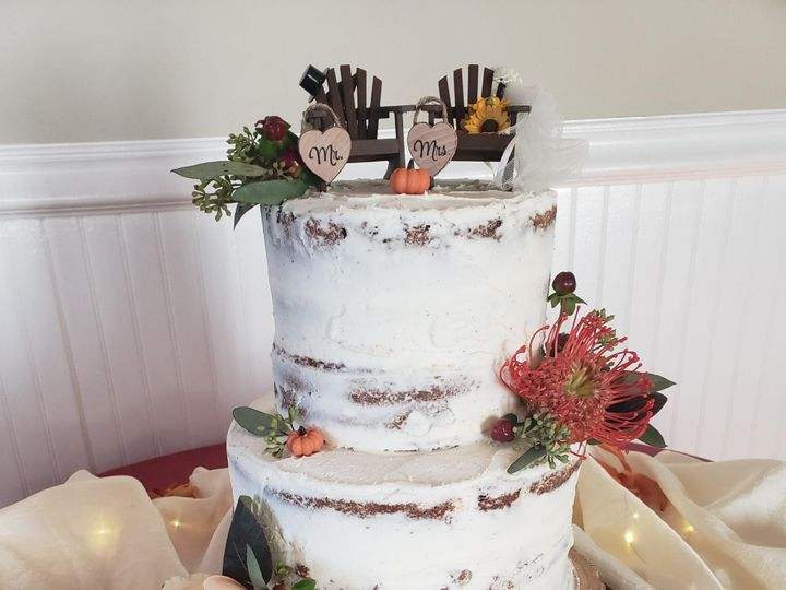 Tmx Naked Cake 51 1360965 158084390914467 Antrim wedding cake