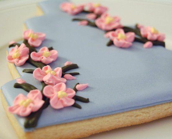Tmx 1255491086646 CherryBlossomCakeCookie Wilbraham wedding favor
