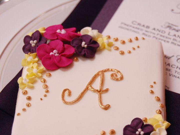 Tmx 1401806958697 Floral Monogram Wilbraham wedding favor