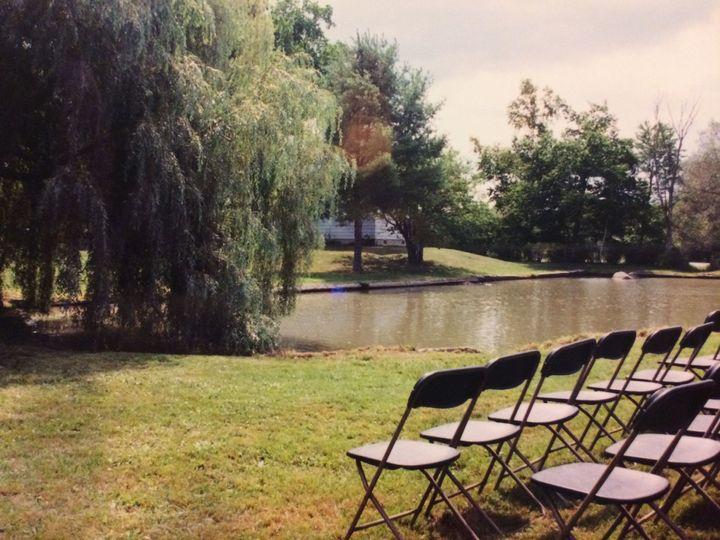 Wedding venue by the lake