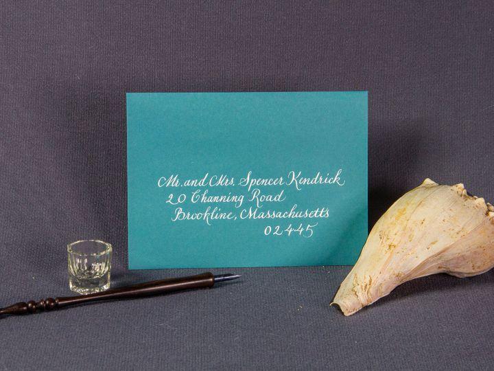 Tmx 1459273872694 Img1677reedited Brookline, Massachusetts wedding invitation