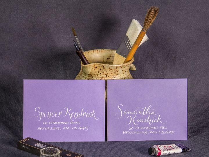 Tmx 1459274062549 Img1674reedited Brookline, Massachusetts wedding invitation