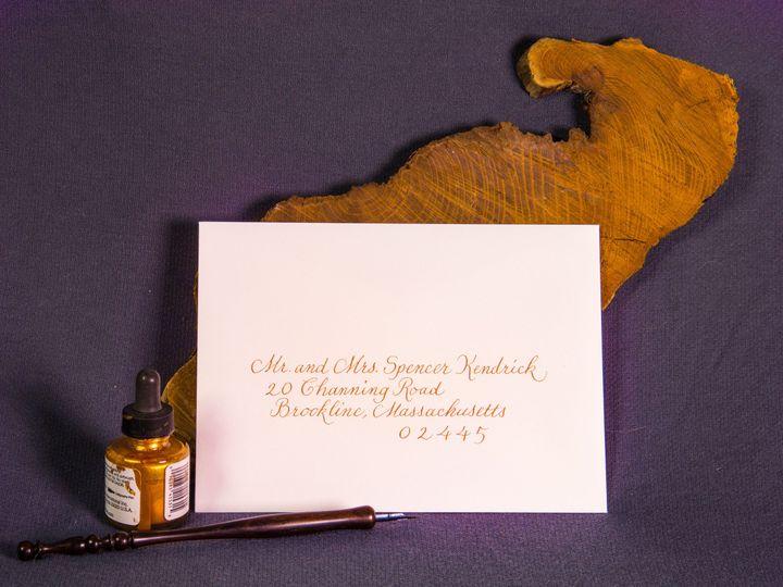 Tmx 1459274255417 Img1671reedited Brookline, Massachusetts wedding invitation