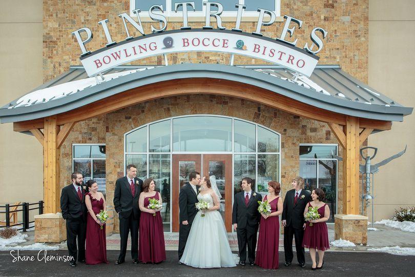 Pinstripes Wedding Chicago