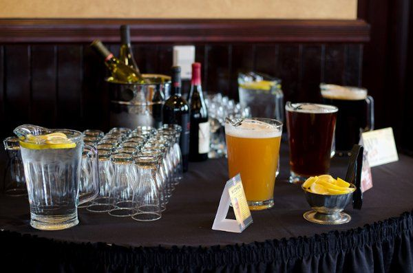 Hosted Beverage Table