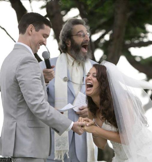 A joyous moment
