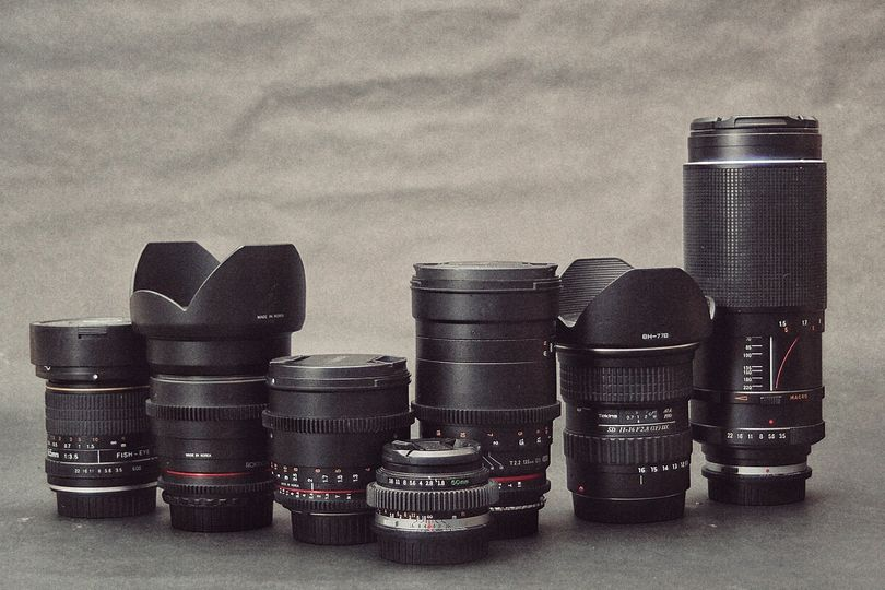 A couple of our lenses.