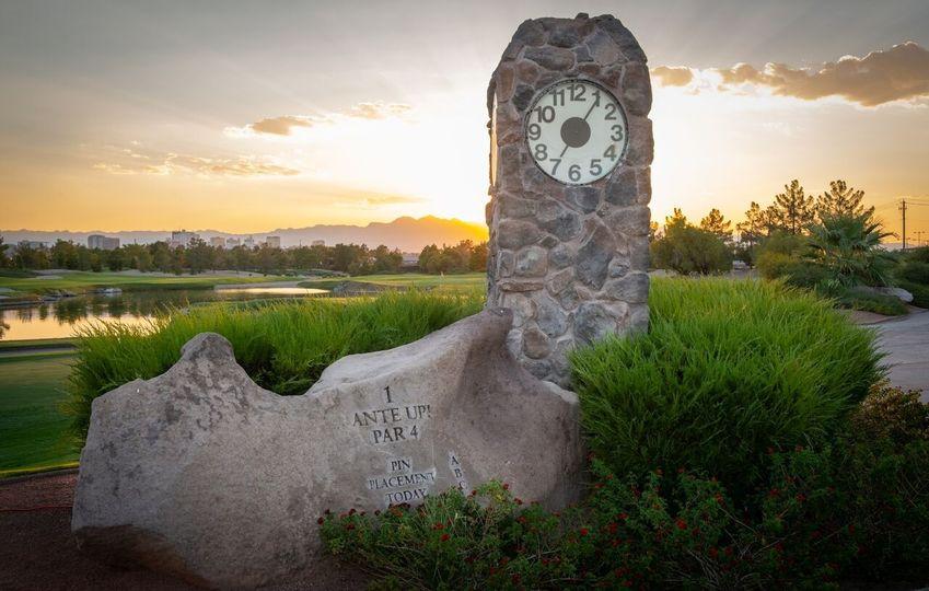 Desert Pines Clock Tower