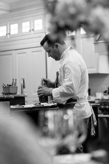 Chef for a private event
