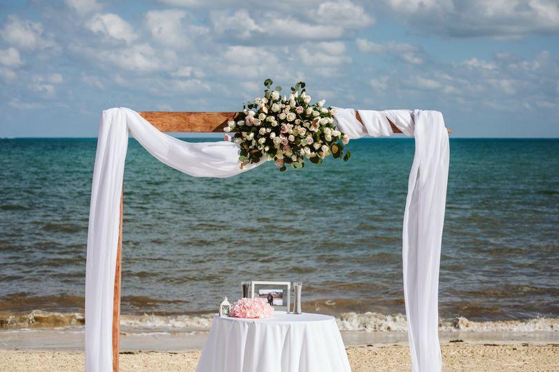 Beautiful ceremony arch