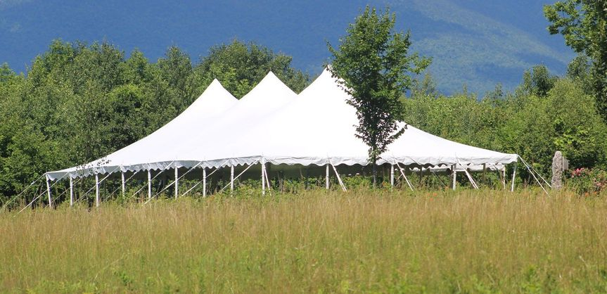 Tent in the field