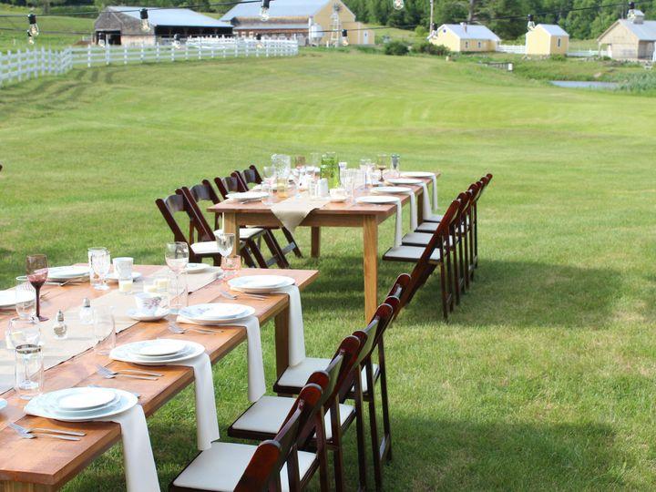 Tmx 1434672288462 Farm Tables China Moultonborough, NH wedding rental