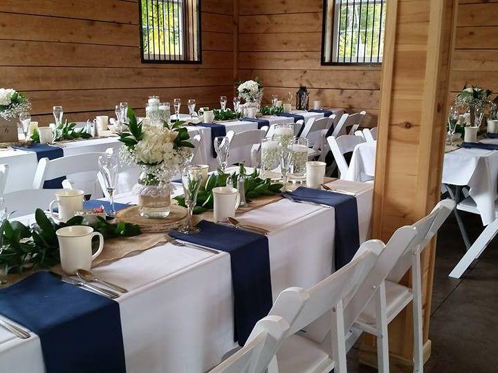 Tmx 1480178456789 Barn Set Up At Locke Falls Farm Moultonborough, NH wedding rental